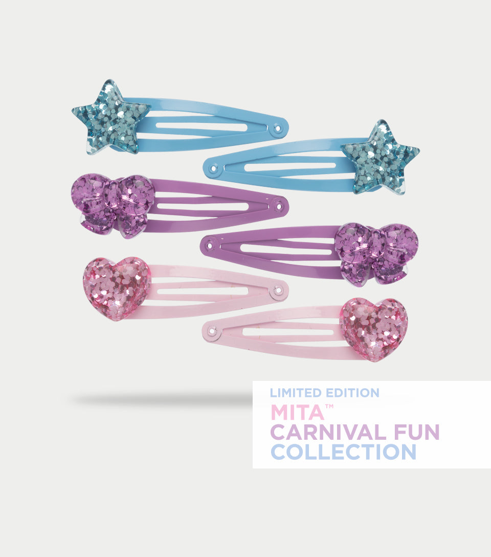 Carnival Fun Collection - Charm Spring Clips (Pack of 6)