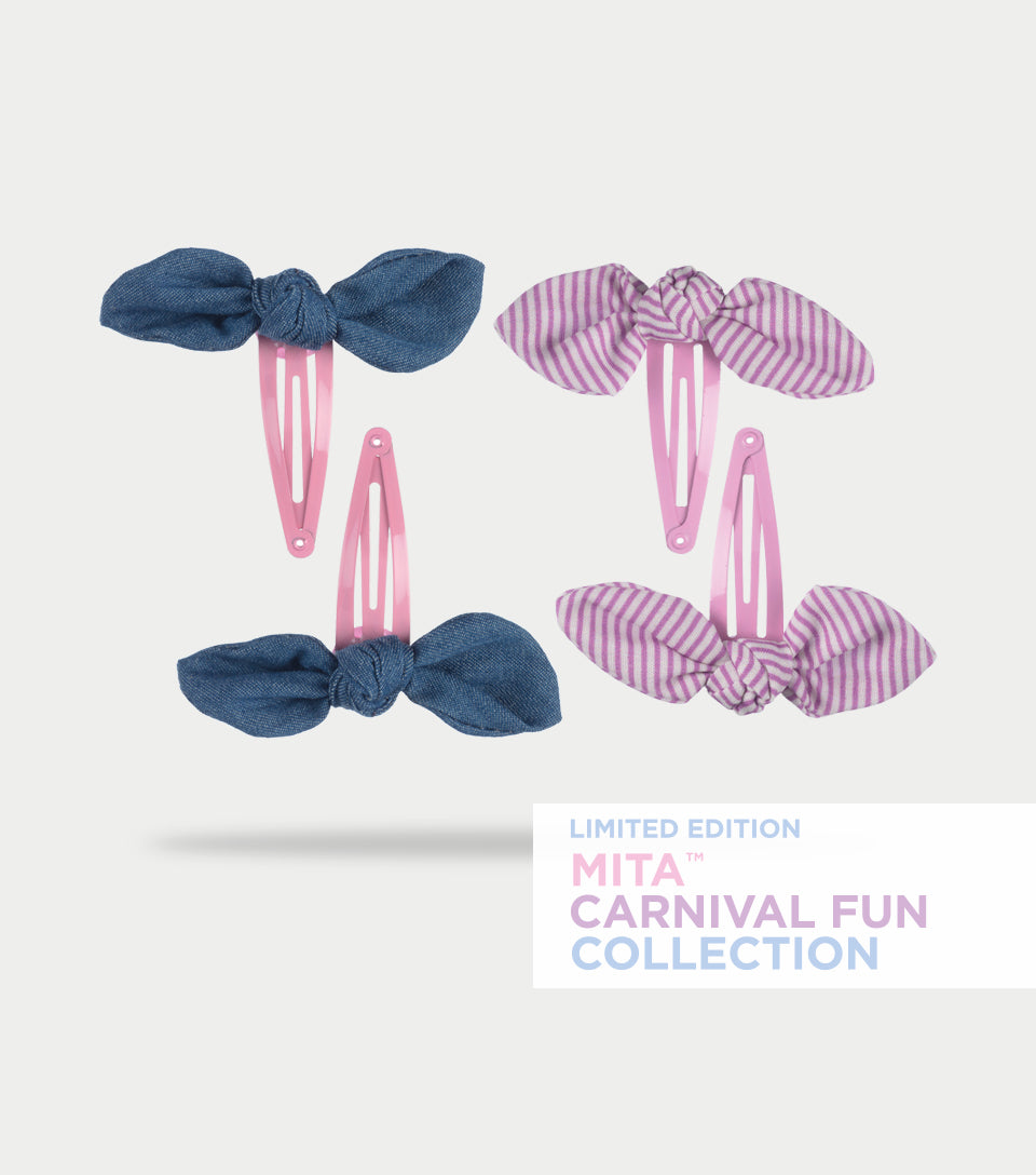 Carnival Fun Collection - Carousel Spring Clips (Pack of 4)