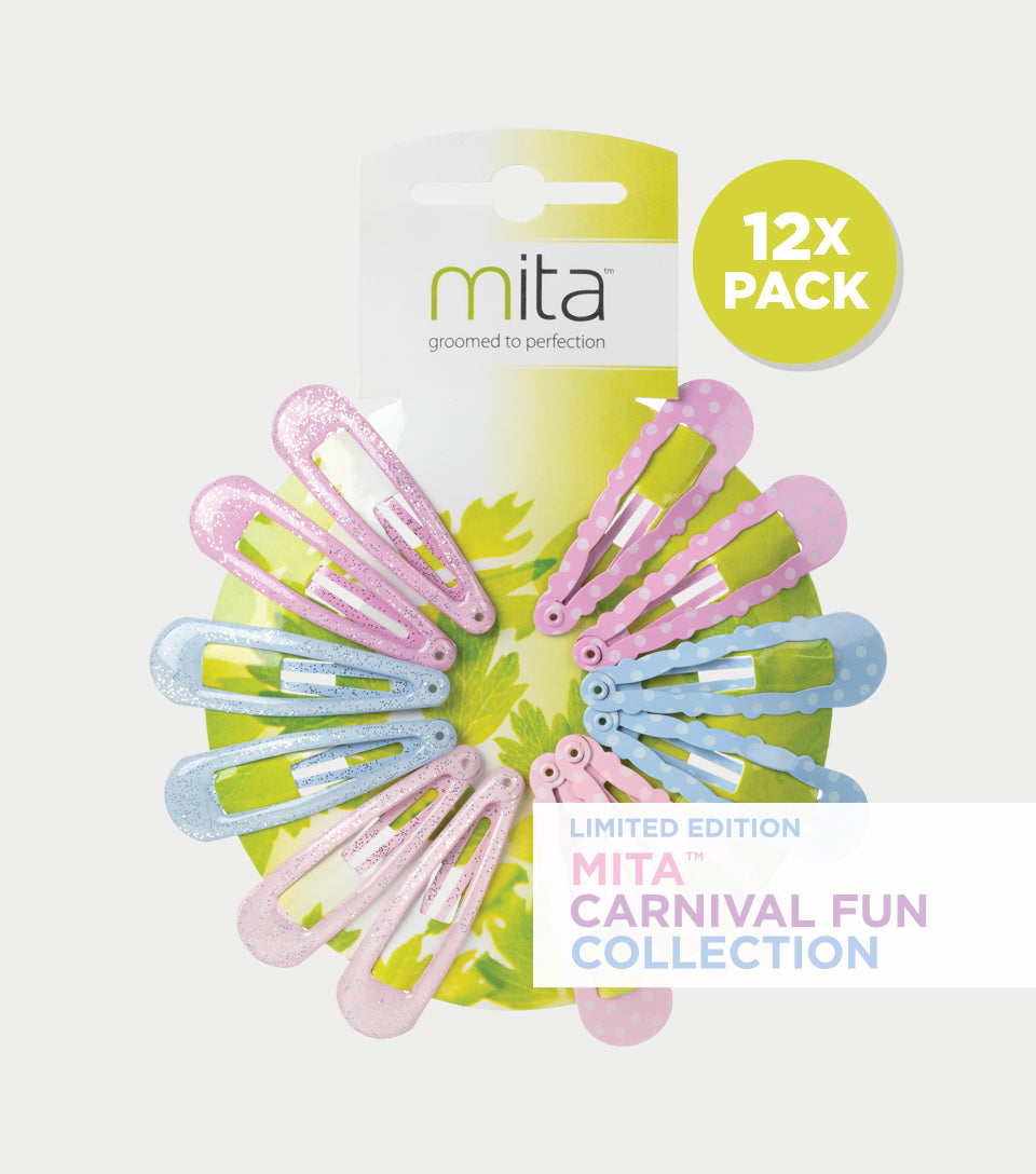 Carnival Fun Collection - Spotty Spring Clips (Pack of 12)