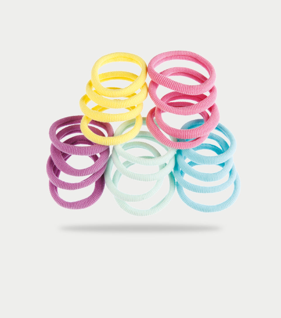 Softies Hair Ties Multi Colours (Pack of 25)