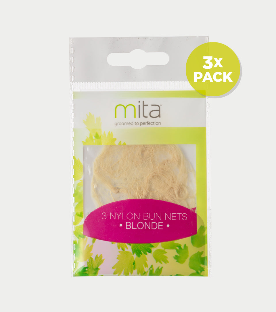 Bun Net Blonde (Pack of 3)
