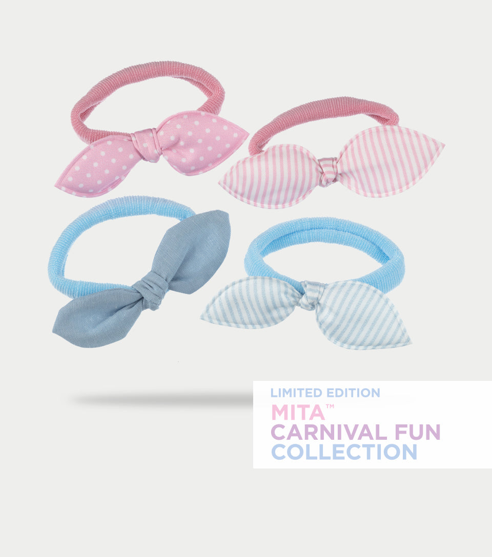 Carnival Fun Collection - Carousel Bow Softies (Pack of 4)