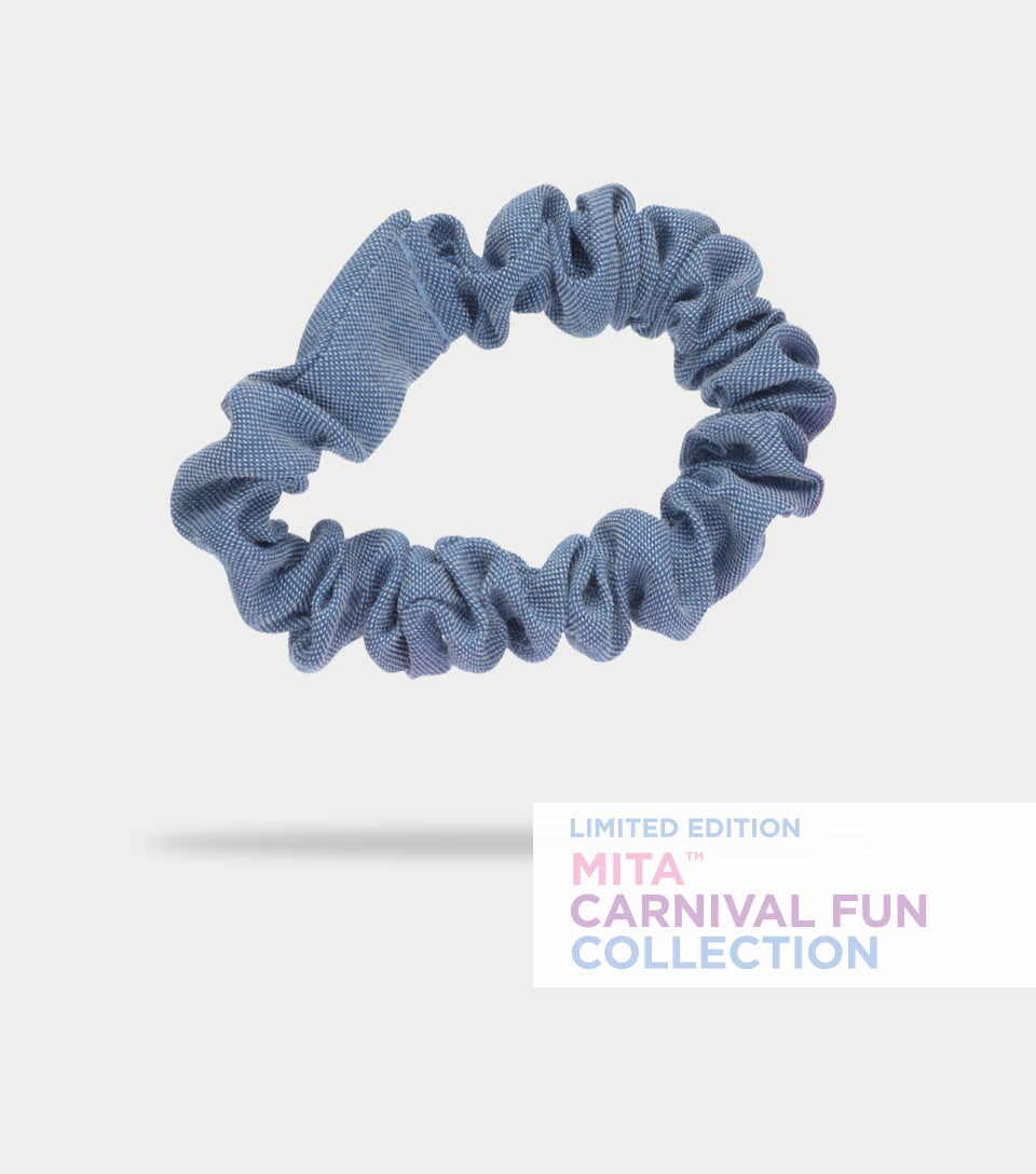 Carnival Fun Collection - Fairy Floss Scrunchies (Pack of 4)