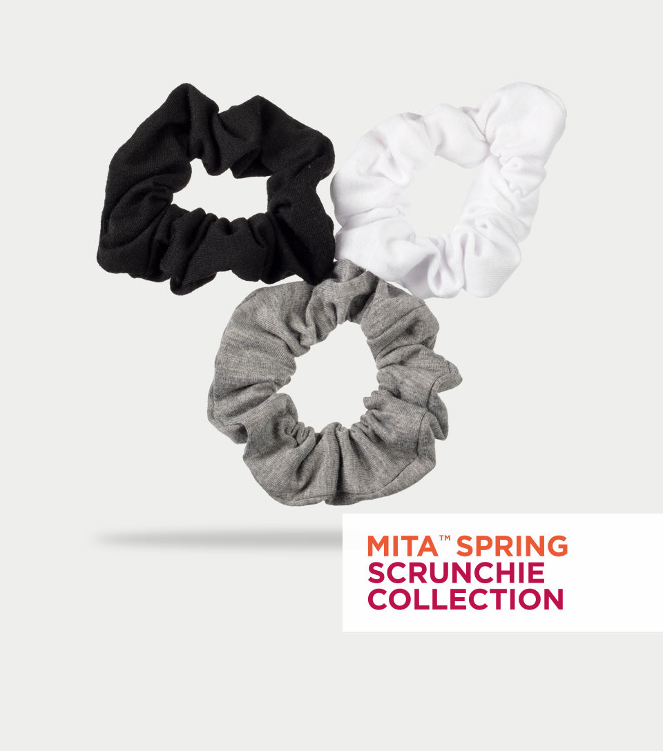 Spring Scrunchie Collection - Cotton Scrunchie (Pack of 3)