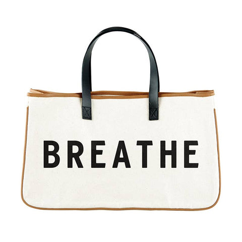 Breath Canvas Tote
