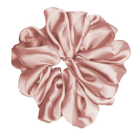 Silk Scrunchie - Blush