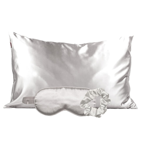 Satin Sleep Kit - Silver