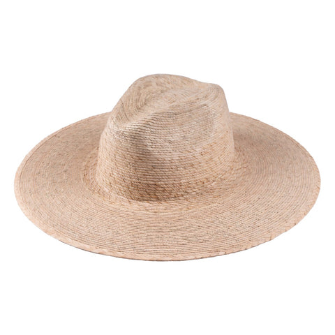 Palm Wide Fedora Hat Light