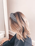 Monochrome Lettered Headband