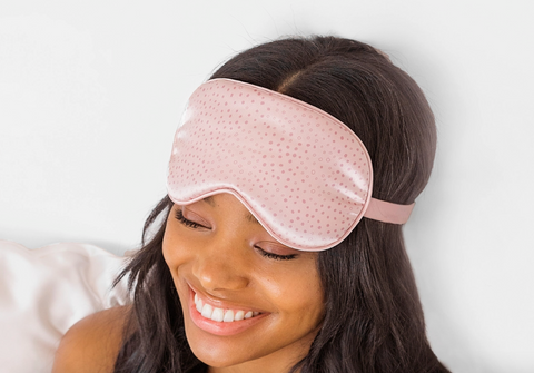 Polka Dots Eye Mask