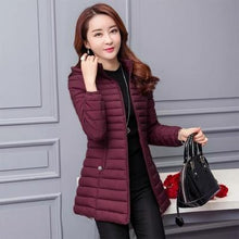 Load image into Gallery viewer, Women Autumn Winter Jacket