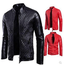 Load image into Gallery viewer, fashion casual zipper jacket
