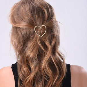 Girls Star Heart Hairpin
