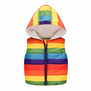 Cartoon Rainbow Vest