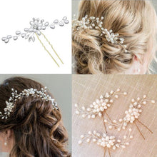 Load image into Gallery viewer, Vintage Bridal Jewelry HairPin