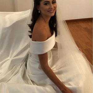 Simple Wedding Dresses Elegent