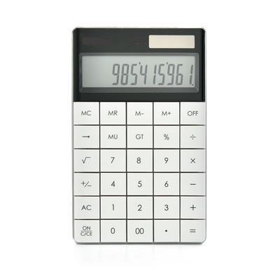 Pocket Calculator Dual Power
