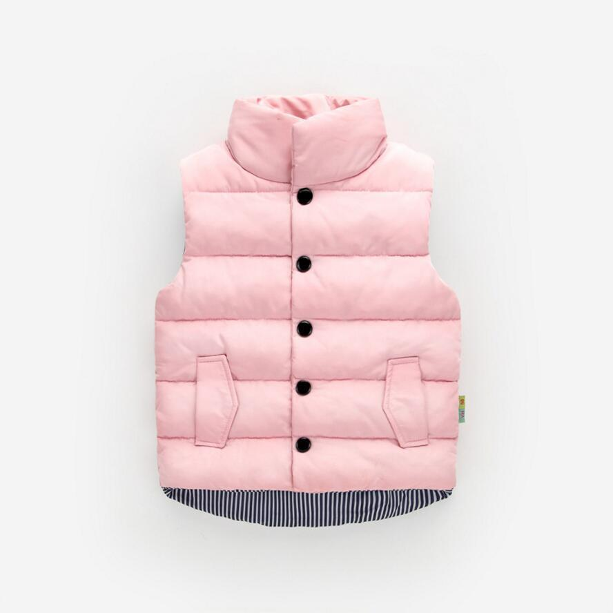 Autumn Winter Girls Casual Vest