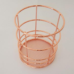 Rose Gold  Pencil Holder