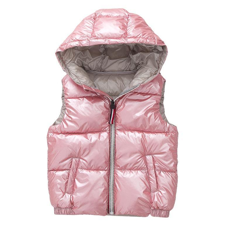 Warm Hooded Cotton  Vest