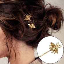 Load image into Gallery viewer, Fashion Jewelry Bee Hairpin