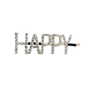English Letter Hairpin