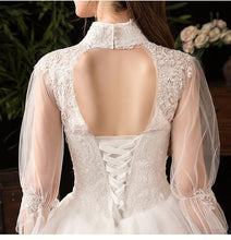 Load image into Gallery viewer, New High Neck Wedding Dress