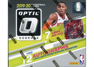 2019-20 Donruss Optic 1st Off The Line Premium Edition Box