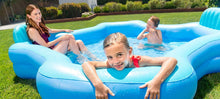 Load image into Gallery viewer, Intex Inflatable 2-Seat Swim Center Family Lounge Pool