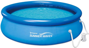 Summer Waves 10ftx30in Quick Set Pool with Pump