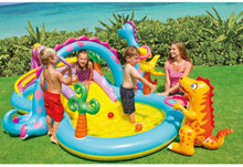 Load image into Gallery viewer, Dinoland Inflatable Play Center, 131in X 90in X 44in, for Ages 3+