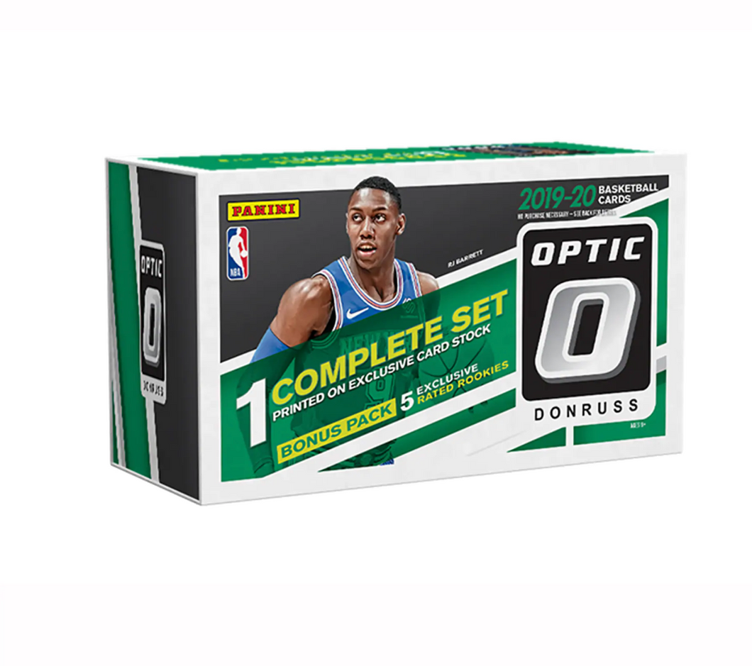 2019-20 Donruss Optic Basketball 200-Card Fanatics Set