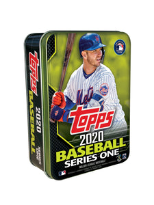 2020 Topps Series 1 MLB Collectible Tin - 75 Cards Pete Alonso Cover