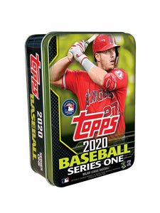 2020 Topps Series 1 MLB Collectible Tin - 75 Cards Mike Trout Cover