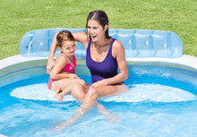 Load image into Gallery viewer, Intex Inflatable Family Lounge Pool