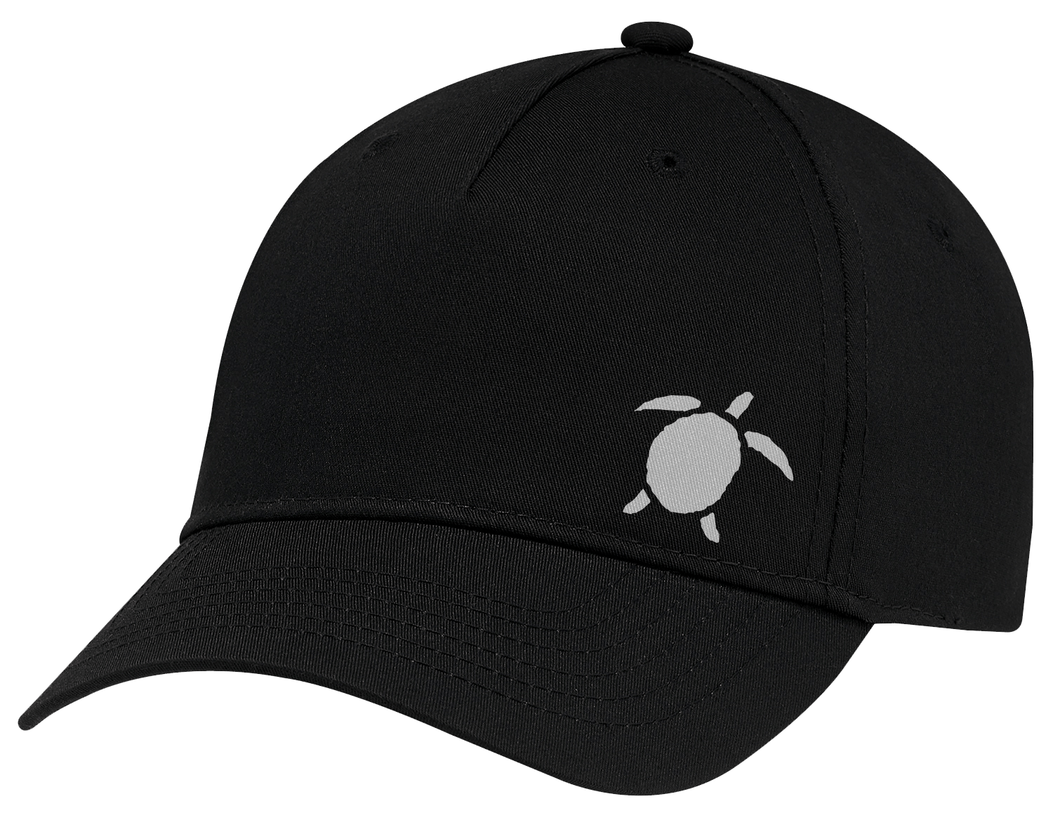 Turtle Beach Clothing little turtle black snap back hat