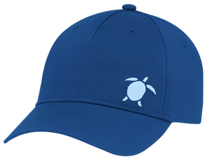 Turtle Beach Clothing little turtle blue snap back hat