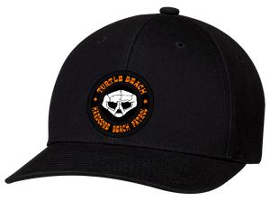 Turtle Beach Clothing hardcore beach patrol hat in black