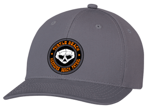 Turtle Beach Clothing hardcore beach patrol hat in grey