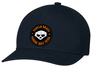 Turtle Beach Clothing hardcore beach patrol hat in navy