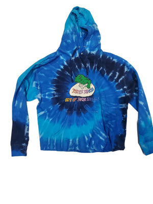 Out of Your Shell Tie Dye Hoodie