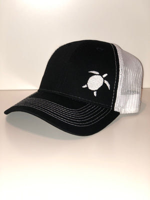 Mesh-back hat with sploosh logo