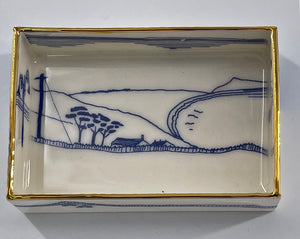 Rectangular Trinket Tray (Dorset Coast)