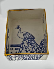 Load image into Gallery viewer, Rectangular Trinket Tray (Venetian Peacock)