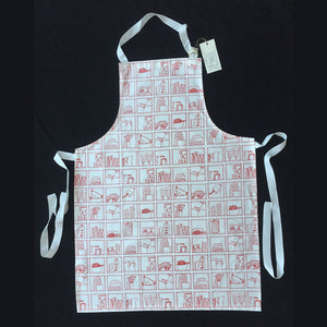 Apron (Kitchen Red)