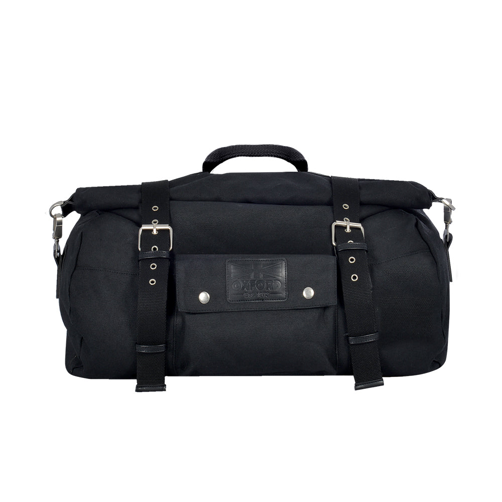 Oxford - Heritage Roll Bag 30L - Black