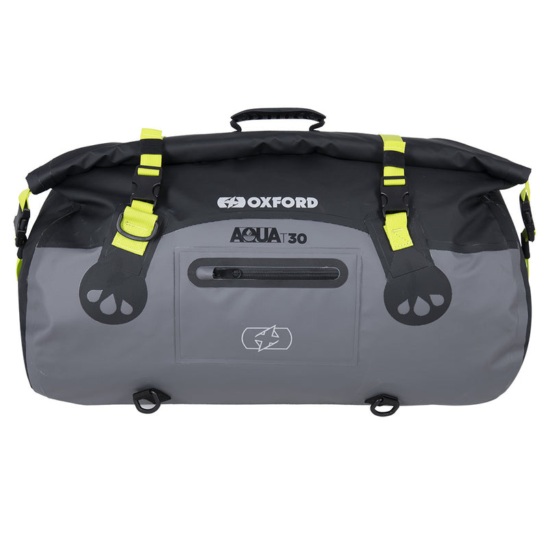 Oxford - AQUA T-30 ROLL BAG - BLACK/FLUO / BLACK/GREY/FLUO / GREY/BLACK / BLACK / KHAKI/BLACK