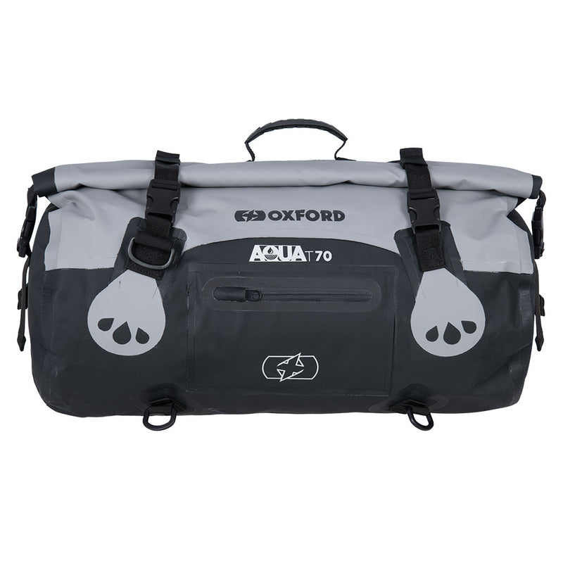 Oxford - AQUA T-70 ROLL BAG - BLACK / BLACK/FLUO / GREY/BLACK