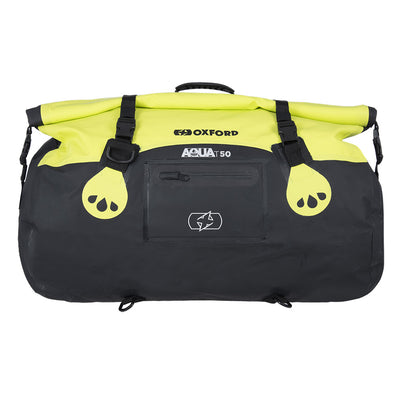 Oxford - AQUA T-50 ROLL BAG - BLACK / BLACK/FLUO / BLACK/GREY/FLUO