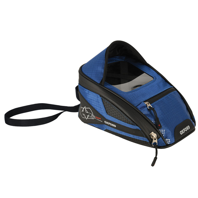 Oxford - M2R MINI TANK BAG - BLACK / RED / BLUE